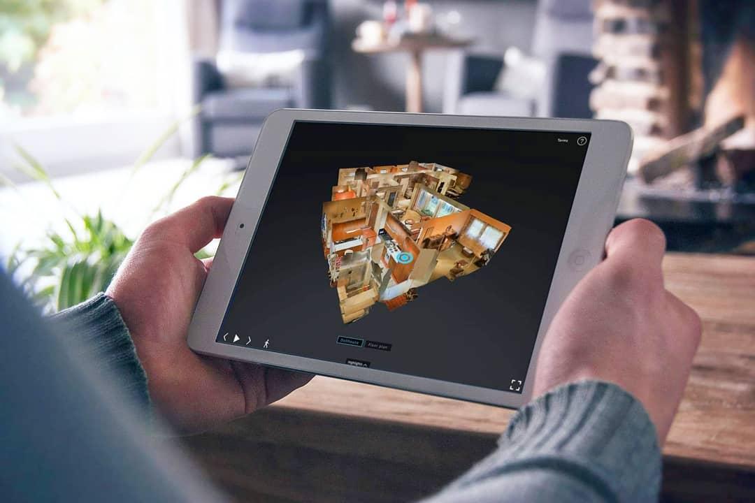 Asunnon virtuaalinen 3D-esittely