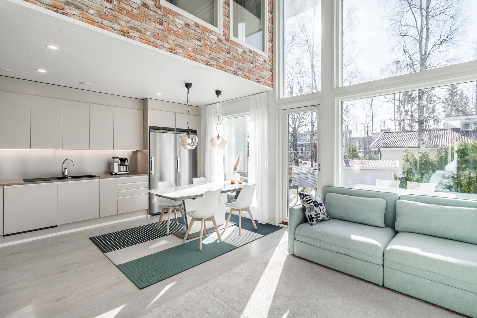 Tämän viikon kaunis koti sijaitsee Kiilletiellä Vantaalla